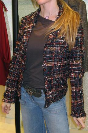 Chanel 07a Fantasy Tweed jacket