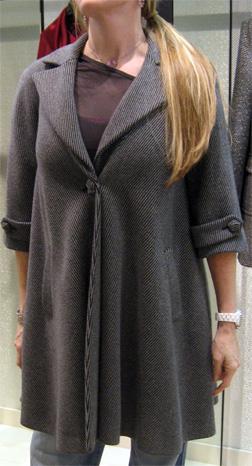 Chanel 07a tweed coat
