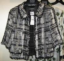 07c Chanel cropped Lesage jacket