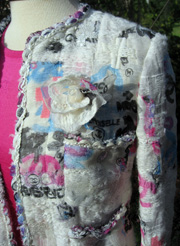 Chanel's 07c Lesage graffiti jacket