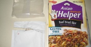 Asian Hamburger Helper