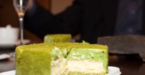 Kyo Hayahiya matcha cheesecake