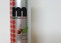 MetroMint cherry mint water