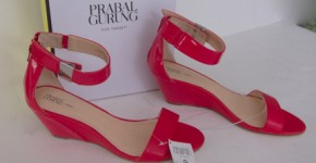 Prabal Gurung red shoes for Target
