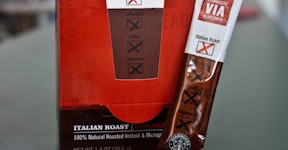 Starbucks Via individual instant packets