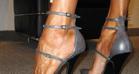 Triple Strap pumps from the Balenciaga catwalk