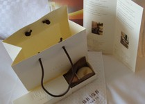 Gift bag of macaroons from Beige