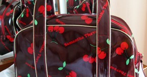 Samantha Thavasa bag with cherries from Tokyo