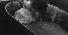 Clint Eastwood in a bathtub