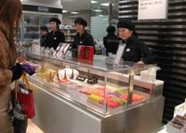 food hall Isetan