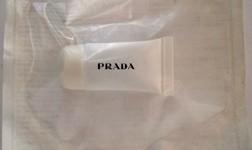 Individually wrapped Prada lipgloss