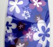 Vazu purple expandable vase