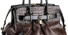 Les Extraordinaires Alligator Steamer Bag by Vuitton