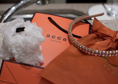 Acca hair bands from Isetan
