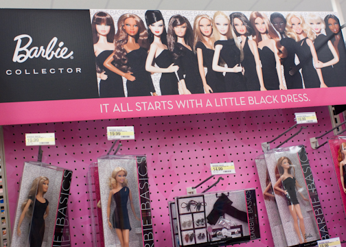 Barbie black label collector