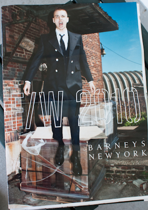 Barneys Fall Winter 2010 Catalog Cover