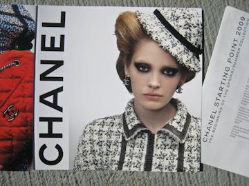 Chanel Starting Point 2009 catalog