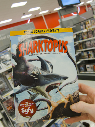 Sharktopus DVD by Corman