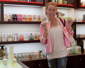 Creed perfume at Tokyo Midtown