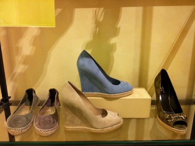 Gucci selection at Bergdorf's