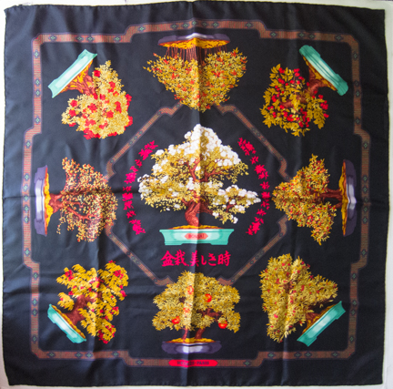 Hermes Bonsai scarf