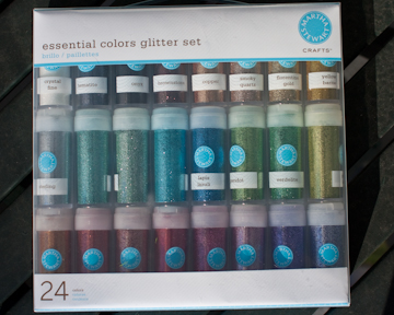 Essential Colors Glitter Set by Martha Stewart
