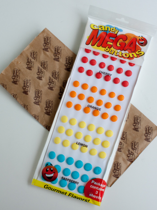 Mega Candy Buttons