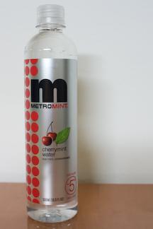 MetroMint cherry mint water