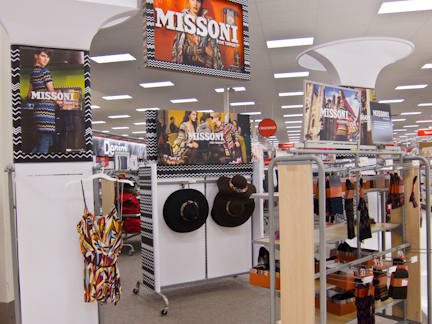 Slim pickings Missoni for Target