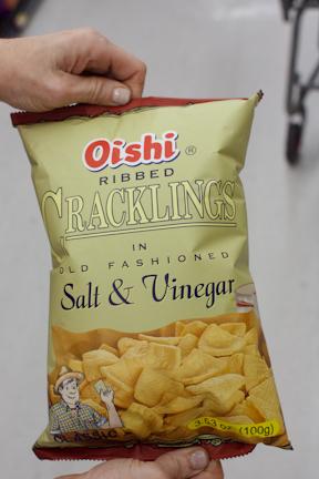 Oishi Ribbed Cracklings