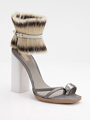 Collared sandal by Reed Krakoff
