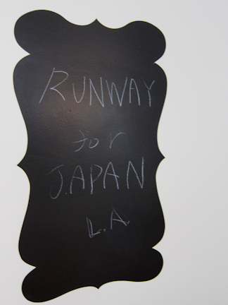 Runway for Japan LA