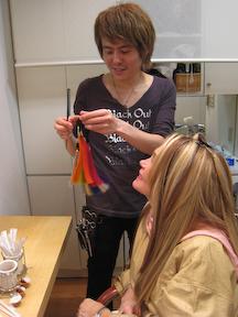 Sakai-san Stylist at Pastel Atelier
