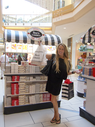 See's Candies kiosk