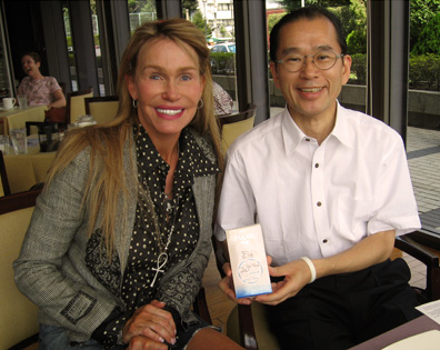 With Kattchi Ito at the Tokyo American Club
