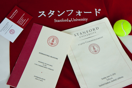 Stanford 119th Commencement program