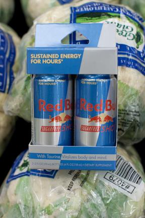 Sugarfree Red Bull 2 oz size