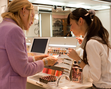 Three Cosmetics at Seibu Shibuya