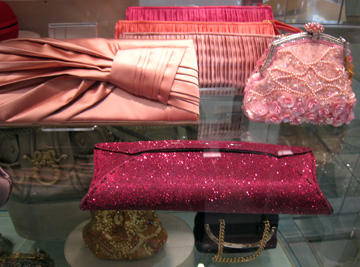 VBH sparkling envelope clutch in Beverly Hills