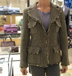 Chanel's 06a tweed jacket