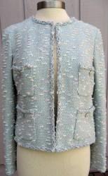 Chanel 07c aqua jacket P29904 M3041