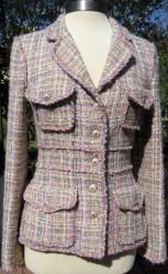 07c jacket style P30010 in ecru/tweed M4873