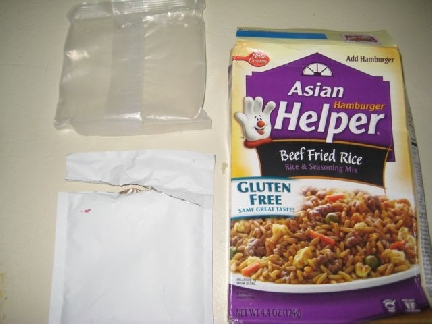 Asian Hamburger Helper