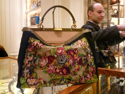 Fendi Needlepoint Bag From Bergdorfs