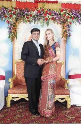 Juliet and Chirag Wedding Day Calcutta