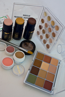 Alcone Viseart Mehron and Ben Nye concealers and cosmetics