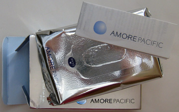 Amore Pacific makeup removing tissues
