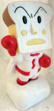 yumyum's Angry Toast figurine