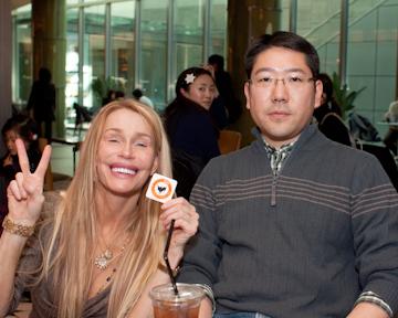 with Ken-san at Tokyo Midtown
