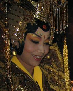 Beautiful Makeup at the Peking Opera
